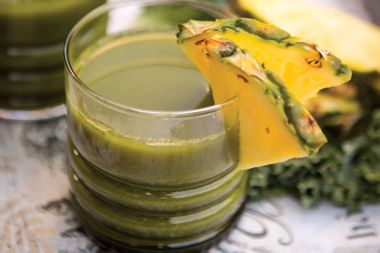 Kale Pineapple Juice