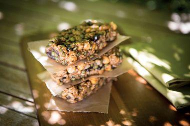 Chickpea and Lentil Crunch Bars