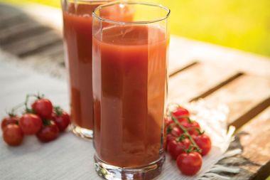 Watermelon Gazpacho Juice