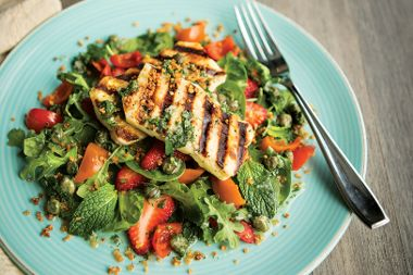 Grilled Cheese Salad