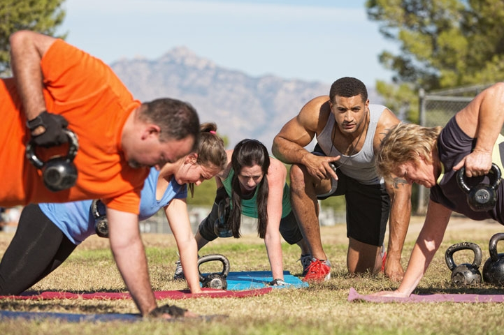 Take Your Workout Outside!