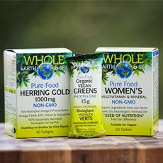 Whole Earth & Sea product giveaway!