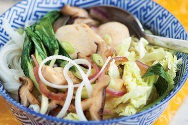Noodle Chicken Bowl