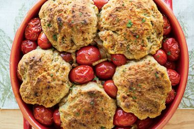 Savoury Tomatoes and Dumplings