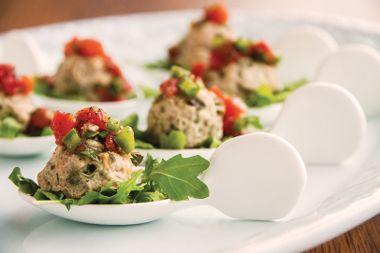Turkey Meatballs with Tomato Confit
