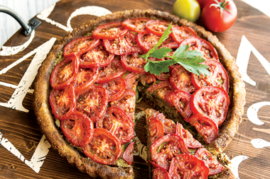 Tomato -Gluten Free Tart