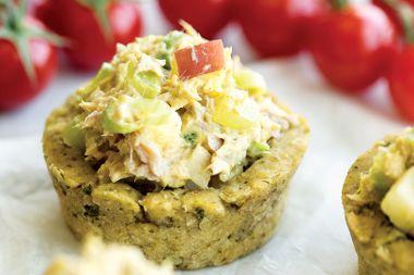 Tuna Salad Bean Cups