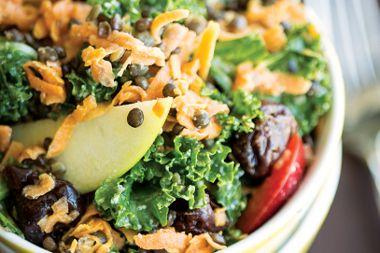 Kale Lentil Sweet Potato Salad