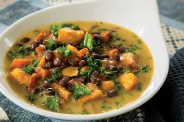 Kabocha Kale Soup