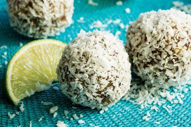 Lemon-Lime Coconut Bursts