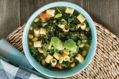 Power Pesto Soup