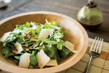 Pumpkin Seed and Arugula Salad