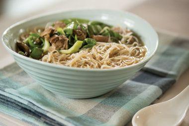 Silk Road Chicken Noodle Soup