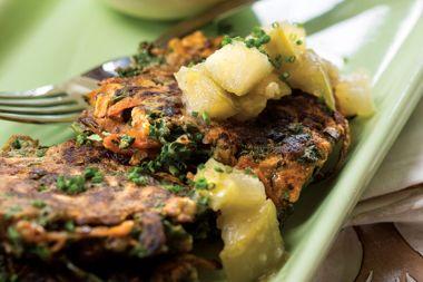 Sweet Potato Kale Hash Patties