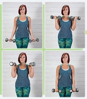 Twisted Bicep Curl
