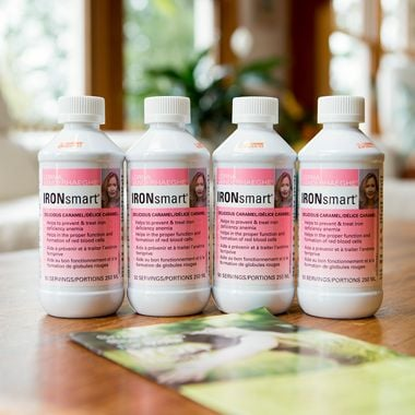 Low in Iron? Enter to Win 1 of 4 Bottles of IRONsmart!