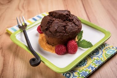 Chocolate Lentil Cakes