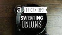 Sweating Onions