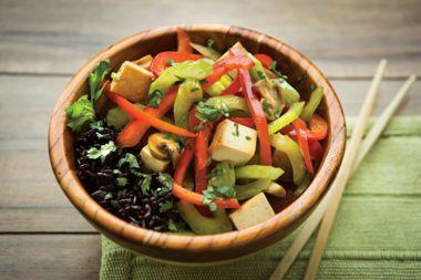 Ultimate Vegetable Fried Black Rice