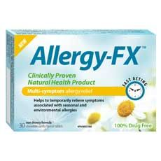 Wheezy, Sneezy, Allergies?! Enter to Win 1 of 4 Allergy-FX Cartons!