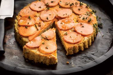 Quinoa Risotto Pie with Sweet Potatoes
