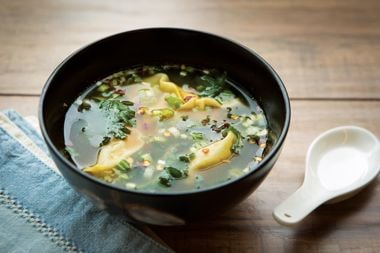 Turkey Wonton Noodle Soup