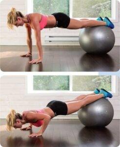 Ball Push-Up