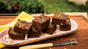 Dairy-Free Chocolate Mint Fudge
