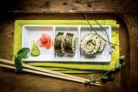 Triple Seaweed Brown Rice Sushi