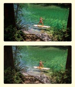 Paddleboard Split Squat