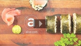 Food Teaser: How to Roll Sushi