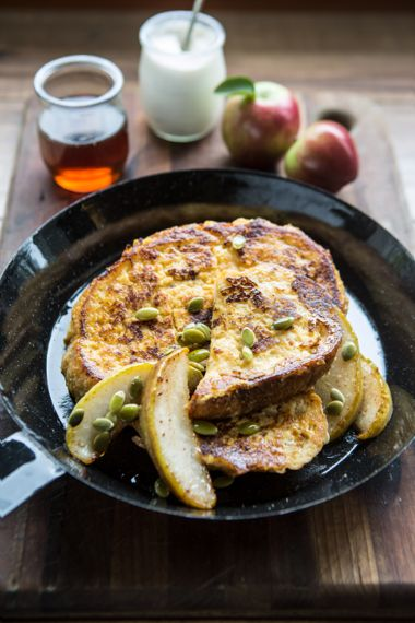 Sourdough Applesauce French Toast