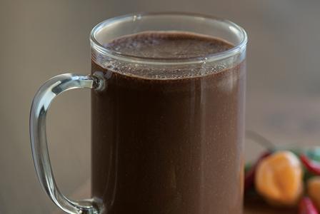 Warm Drinks-Mayan Hot Chocolate Smoothie