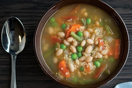 Healthy Soup Recipes-Light and Lovely Minestrone