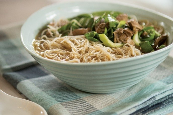 Healthy Soup Recipes-Silk Road Chicken Noodle Soup