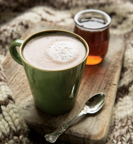 Healthy Warm Drinks-Macaccino