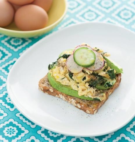 Joyous Recipes: Avocado Kale Tartine