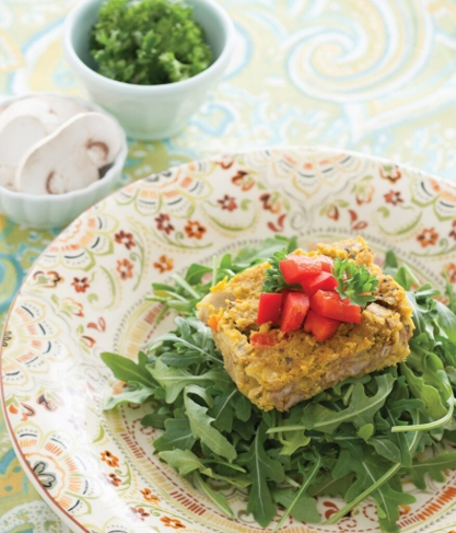 Joyous Recipes: Lentil Loaf