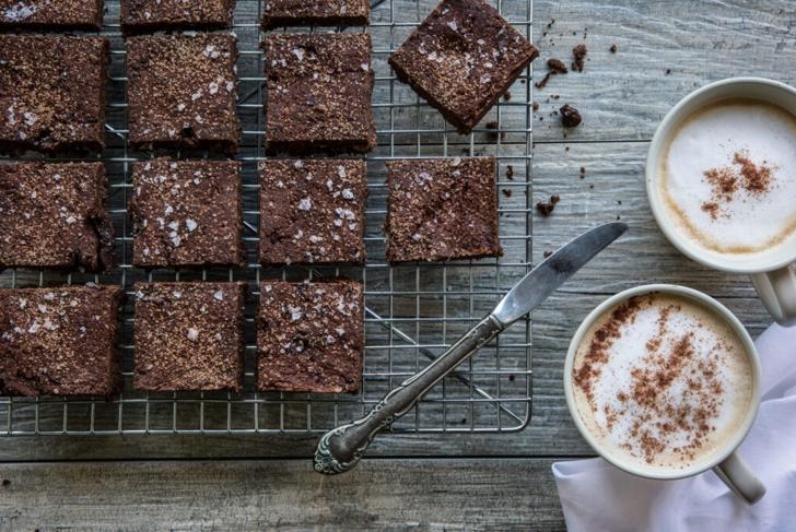 Flourless Sea Salt Chocolate Squares