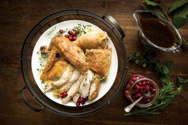 Traditional Brined Turkey