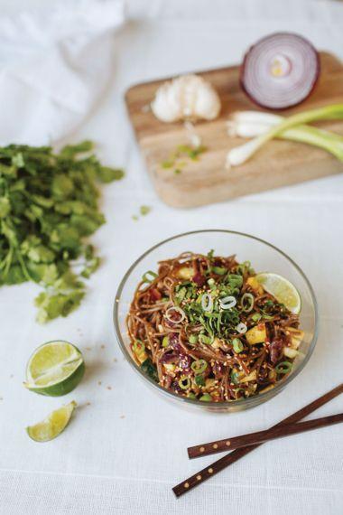 Buckwheat Noodle Pad Thai