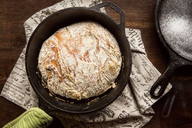 Rustic Oatmeal Soda Bread