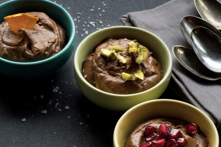 Chocolate Hazelnut Avocado Pudding