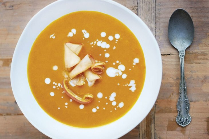 Superfood soups-Curried Apple and Butternut Squash Soup