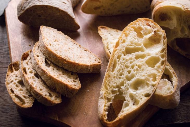 Crusty Sourdough Italian Loaf