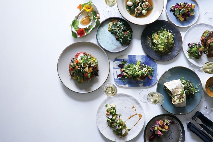 Plant Food + Wine is Picture Perfect