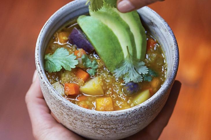 Superfood soups-Peruvian Quinoa Stew