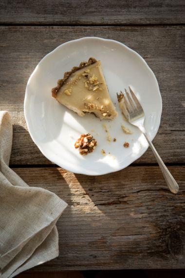 Raw Honey Walnut Cheesecake