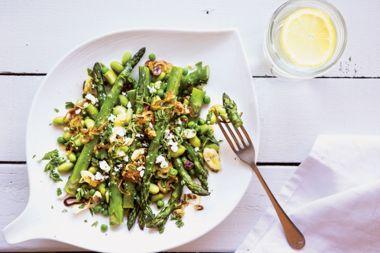Asparagus, Edamame, and Pea Salad