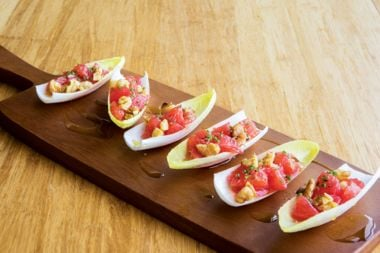 Endive Boats with Grapefruit and Walnuts